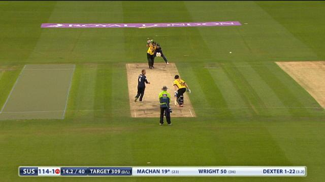Sussex v Middlesex -Royal London One Day Cup, Sussex Sharks Innings