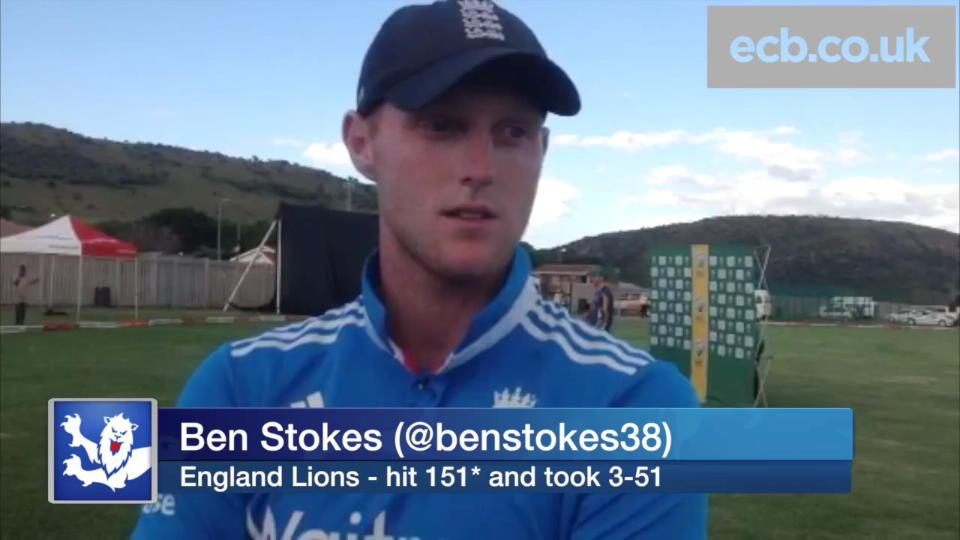 Ben Stokes hits 151 off 86 balls and takes 3-51 for England Lions
