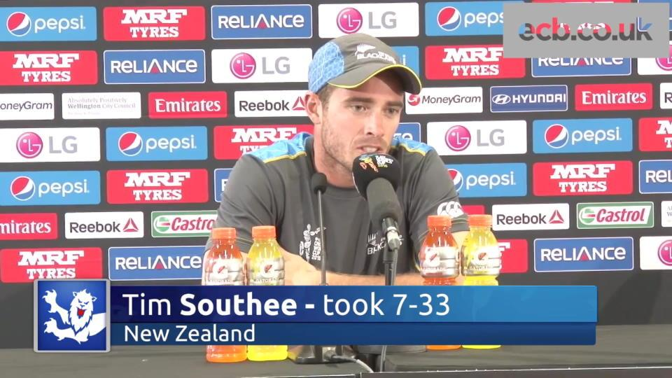 Southee on perfect day