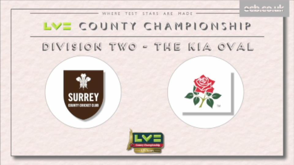 Surrey v Lancashire - Day 2