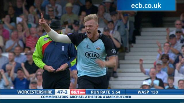 Surrey v Worcestershire - Natwest T20 Blast, Worcestershire innings