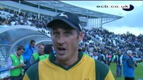 Hussey bemoans bad luck