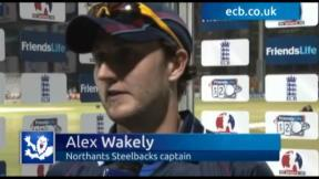 Northants Steelbacks make last four