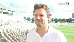 England's new Physio Ben Langley