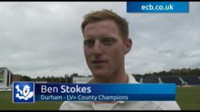 Stokes savours special moment