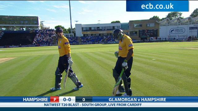 Glamorgan v Hampshire - NatWest T20 Blast, Hampshire Innings