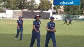 England Women enjoy crushing win