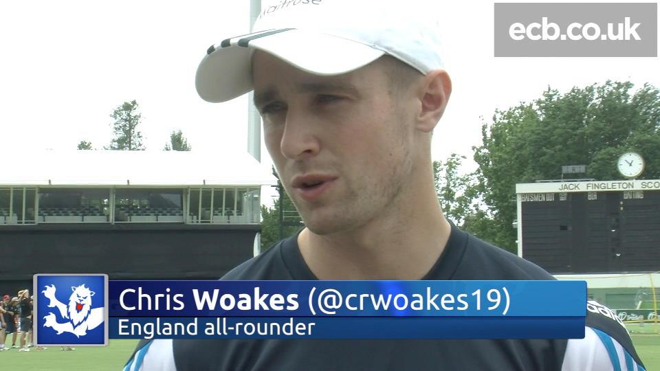 Chris Woakes wants winning start to tour