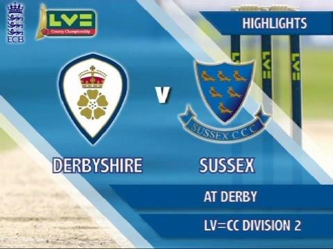 7 June - Derbyshire v Sussex - Day 3