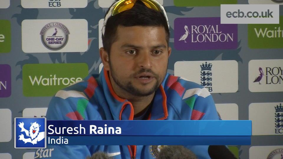 Raina pleased with positive attitude