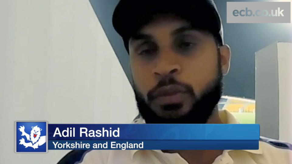 Rashid pleased to see familiar faces