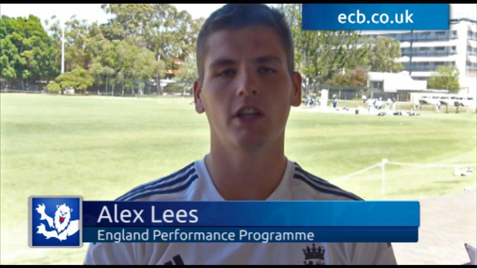 Lees enjoying life Down Under