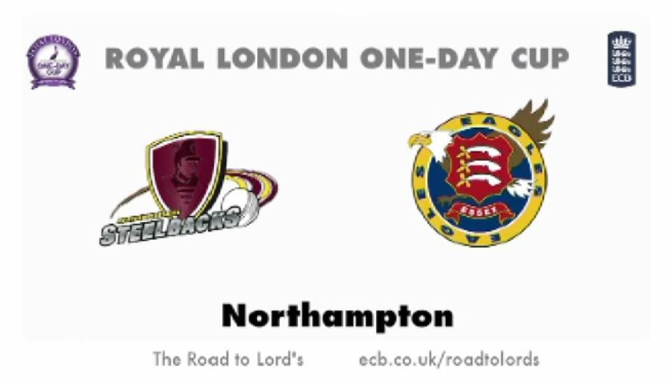 Northants Steelbacks v Essex Eagles