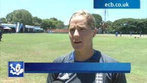 England women delighted with support