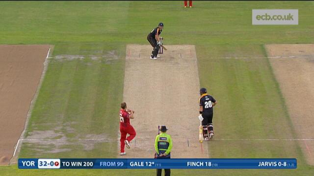 Lancashire v Yorkshire - Natwest T20 Blast - Yorkshire Innings