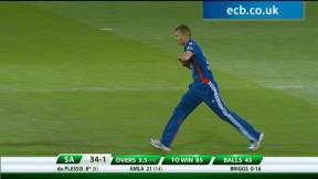 3rd NatWest T20 - South Africa innings
