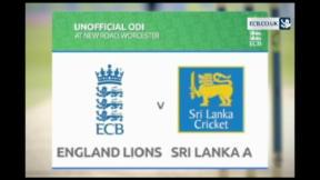 England Lions v Sri Lanka A - 1st ODI