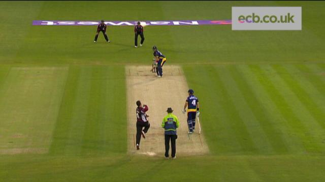Glamorgan v Somerset - NatWest T20 Blast, Glamorgan Innings