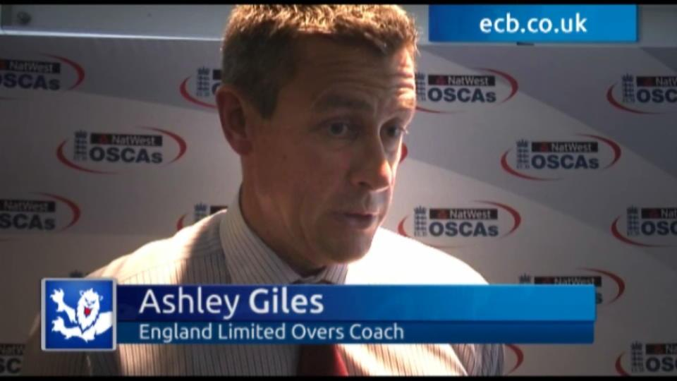 Volunteers - Ashley Giles