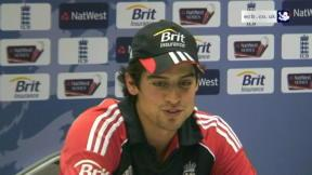 Cook praises character