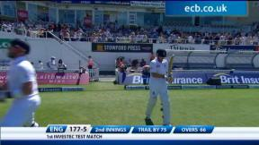 1st Investec Test - The Kia Oval - Day 5 afternoon