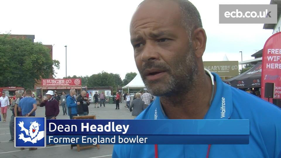 Dean Headley on James Anderson's bowling