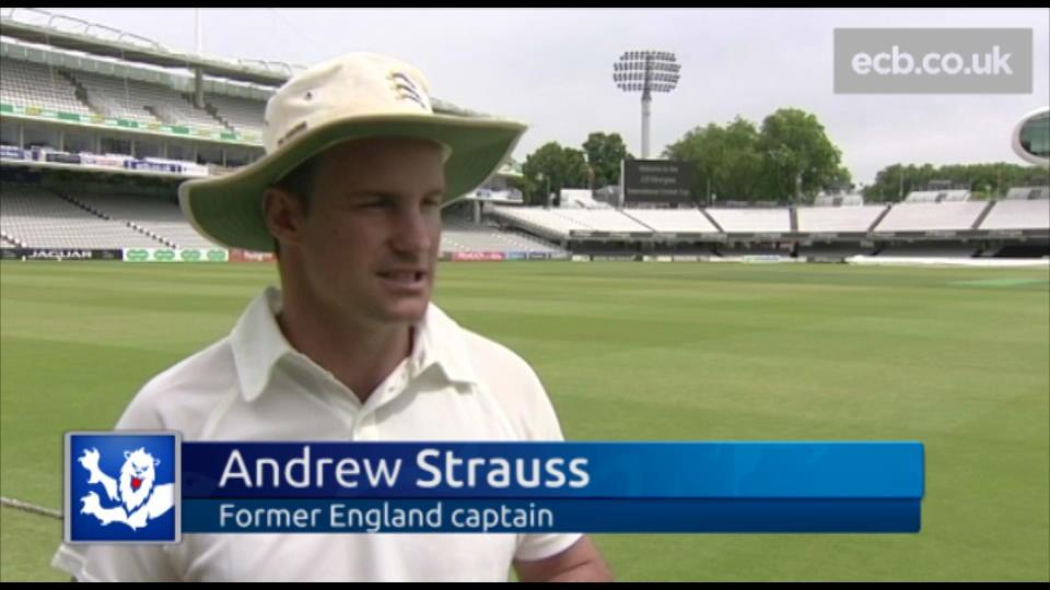 Strauss backs England