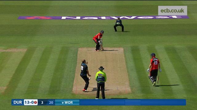 Worcestershire v Durham - NatWest T20 Blast, Durham Innings