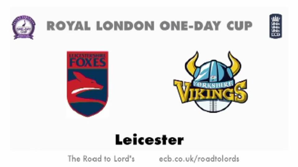 Leicestershire Foxes v Yorkshire Vikings