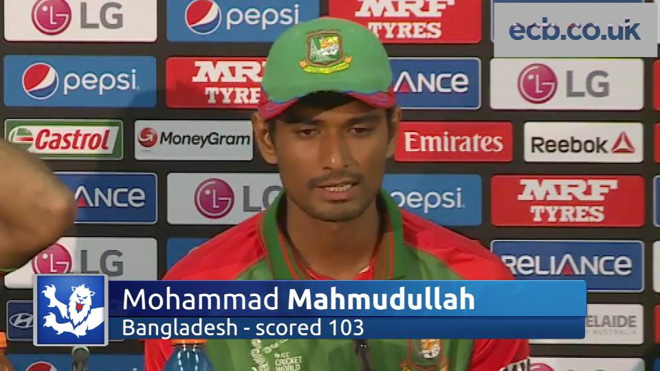 Centurion Mahmudullah hails Bangladesh win