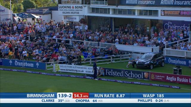Essex v Birmingham - Natwest T20 Blast, Birmingham innings