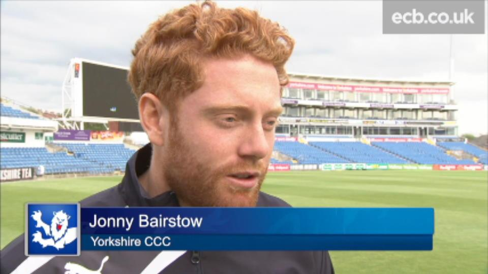Fantastic to be back - Bairstow