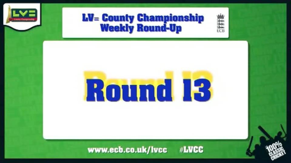 LV= County Championship - Round 13 highlights