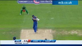 3rd NatWest Series ODI - England innings