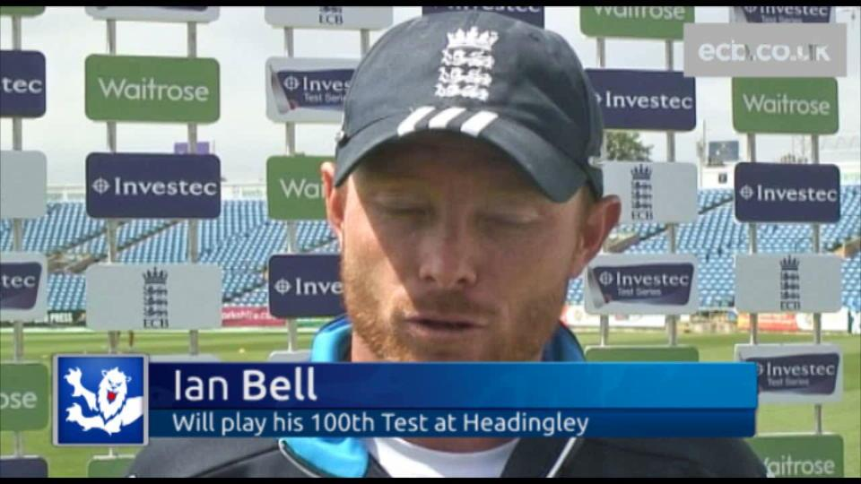 Bell joins 100 club