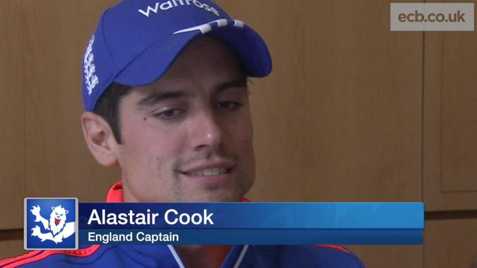Our focus is on this Test - Cook