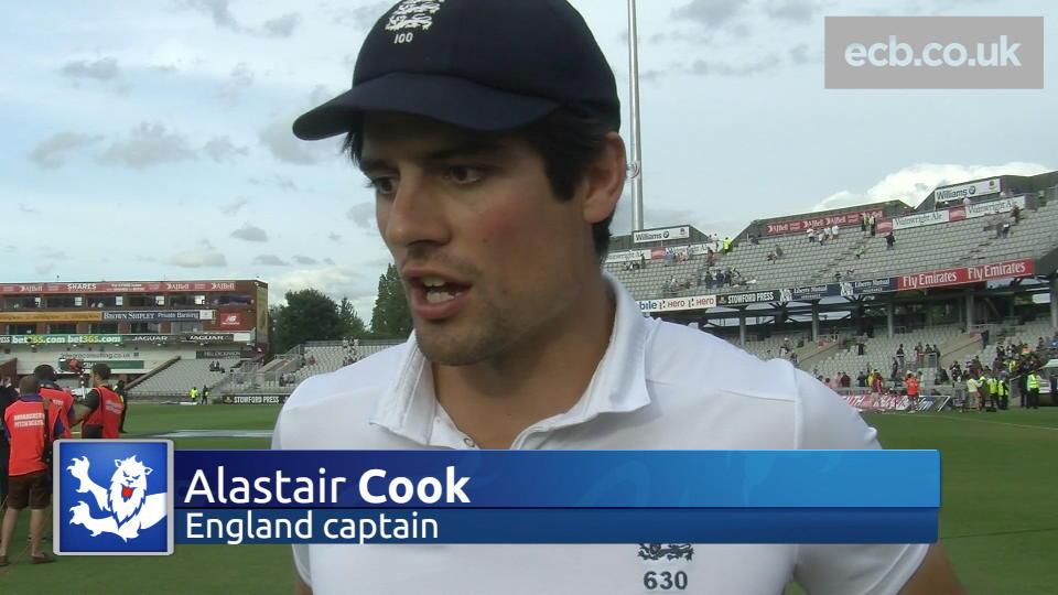 Captain Cook delighted with emphatic victory