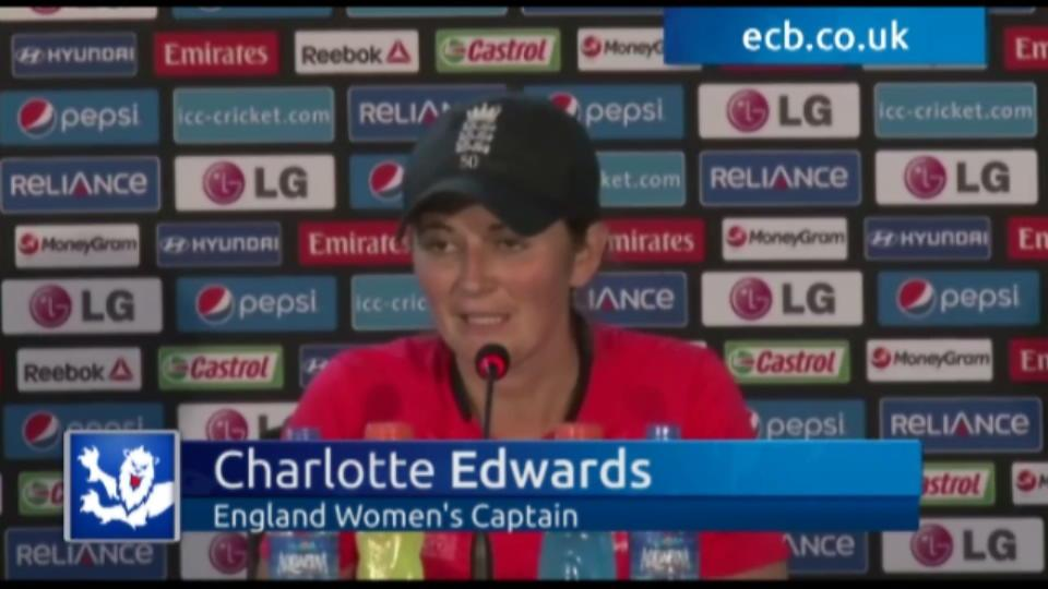Edwards impressed by improving England