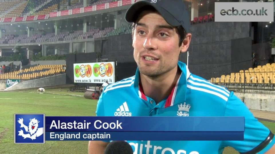 England beat Sri Lanka in Hambantota - Alastair Cook and Jos Buttler