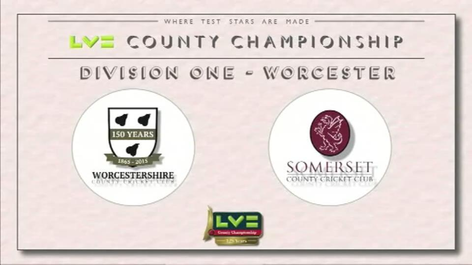 Worcestershire v Somerset - Day 1