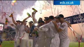 England v Australia - 5th Investec Ashes Test highlights, Day 5 Evening