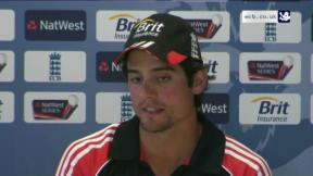 Cook reacts to defeat