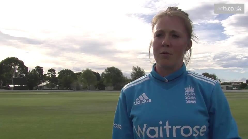 Sarah Taylor - We played exactly our brand of cricket today