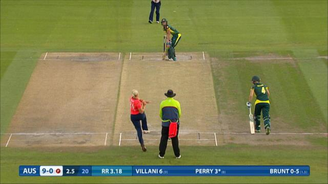 England v Australia - Women's Ashes T20, Australia Innings