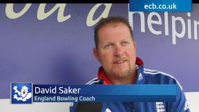 Saker gives insight into pace attack