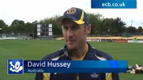 Hussey stirred by Notts reunion