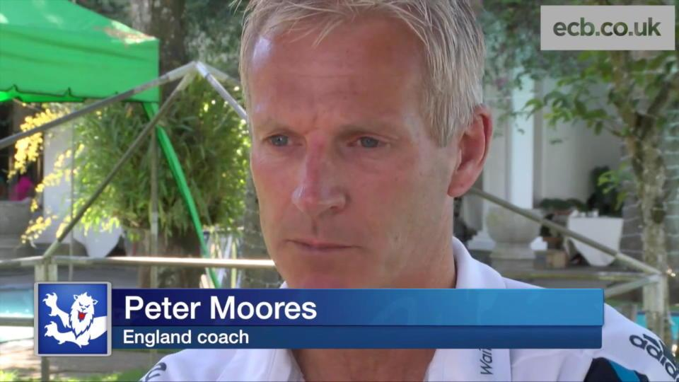 Peter Moores on Alastair Cook, Sri Lanka and improvements for World Cup