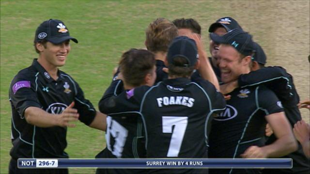 Surrey v Nottinghamshire - Royal London One Day Cup, Nottinghamshire Innings