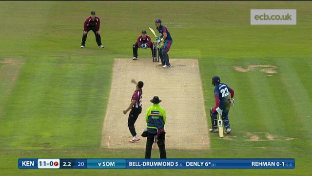 Kent v Somerset - Natwest T20 Blast - Kent Innings