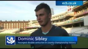 Sibley is Surrey's history boy